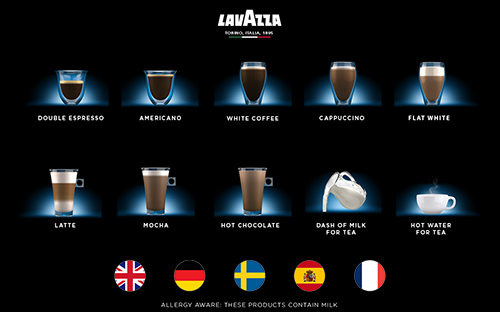 Prontissimo Nano P Commercial Coffee Machine user interface