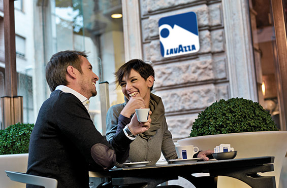 Lavazza brand reach