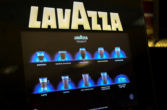 Lavazza Futuro Espresso Bean to Cup Coffee Vending Machine