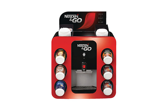 Nescafe & Go coffee machine