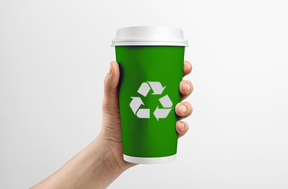 eXpresso PLUS recycling and waste